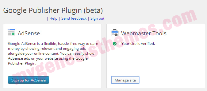 google publisher plugin webmasters