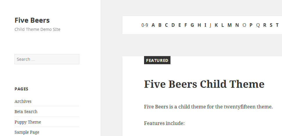 five-beers-twenty-fifteen-child-theme